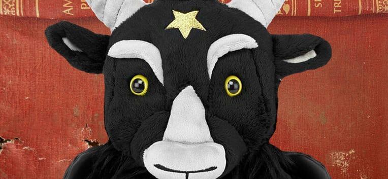 Baphomet Goat Goth Plush Toy