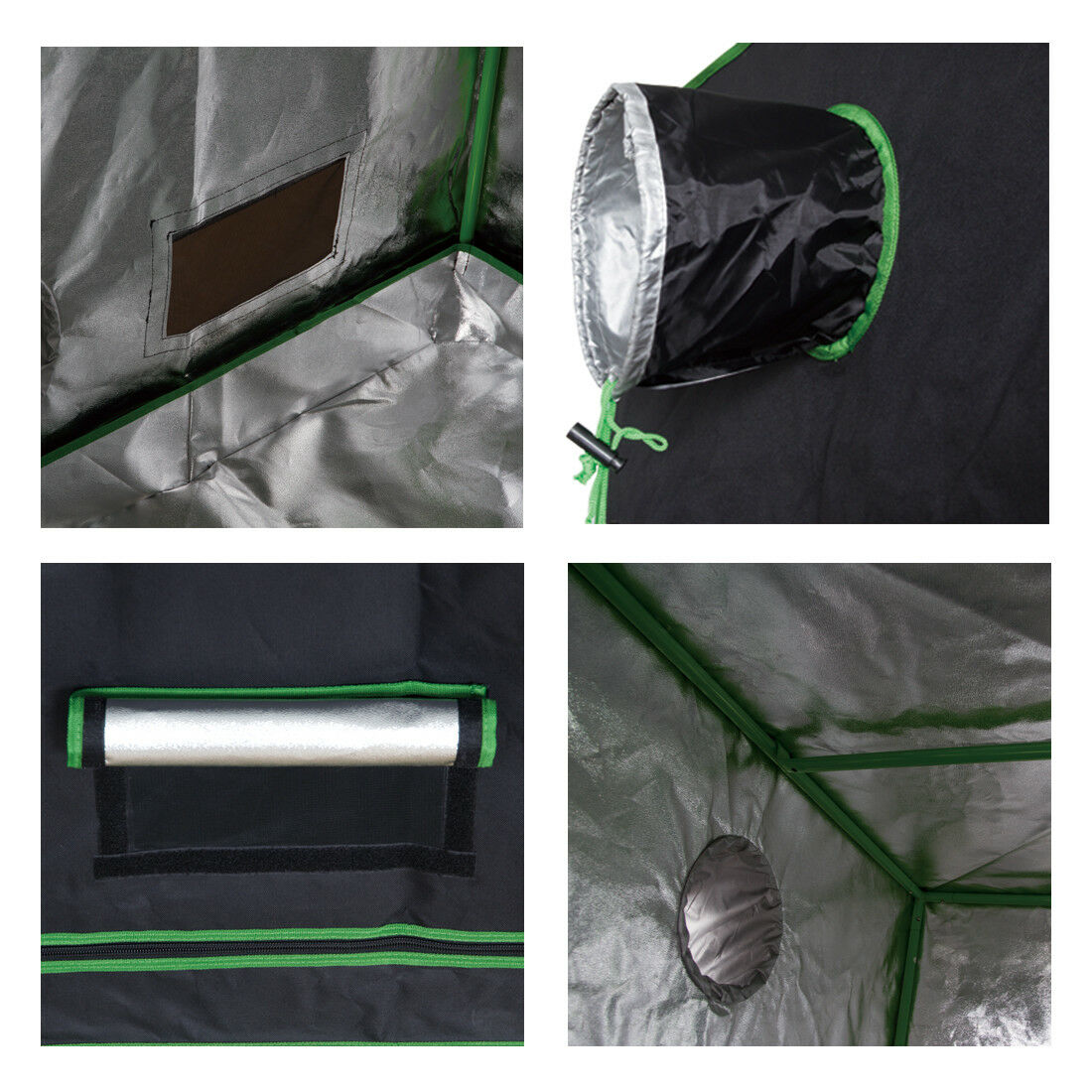 Growing Tents with Openings for exhaust fans