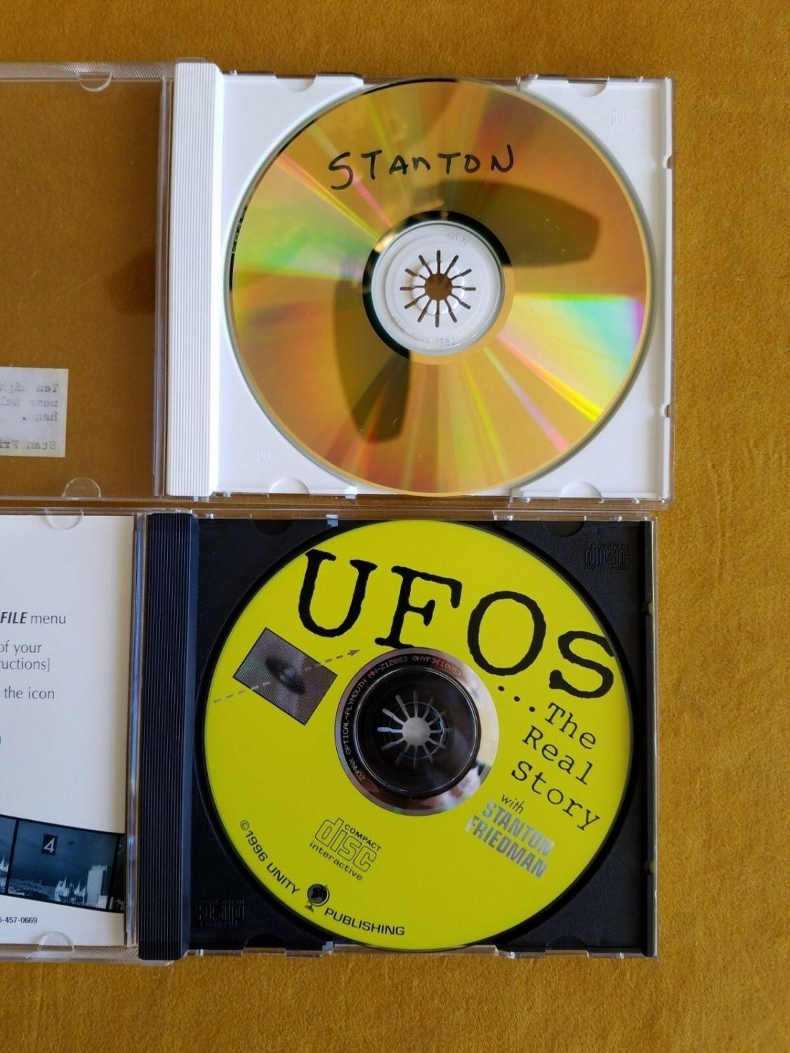 2 Stanton Friedman CDs - One has HQ General Ramey Scans, Other is UFOLOGY - RARE