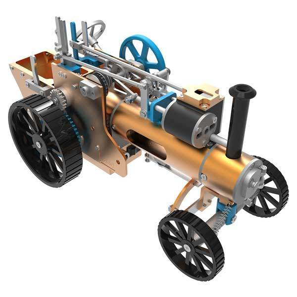 Model Steam Car Engine Assembly Kit