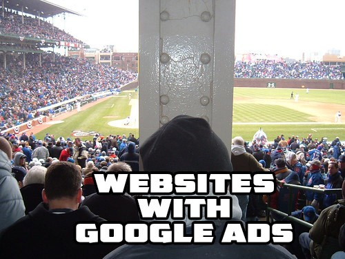 Websites with Google Ads