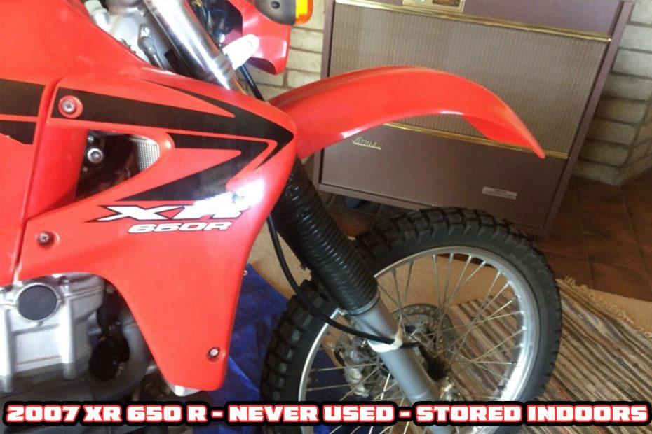2007 Honda XR 650 R
