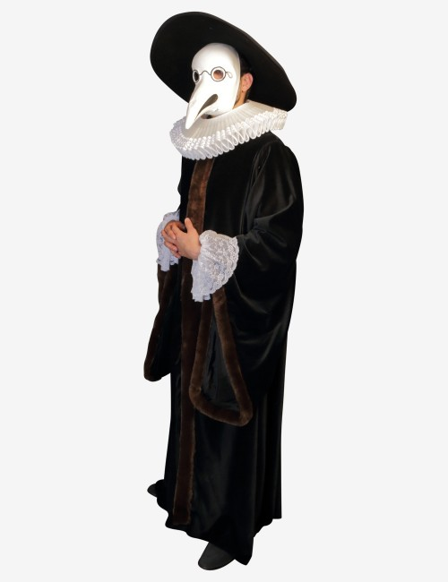 Authentic Venetian Plague Doctor Costume, Hand Made In Venice, Italy! Only 10 Available!