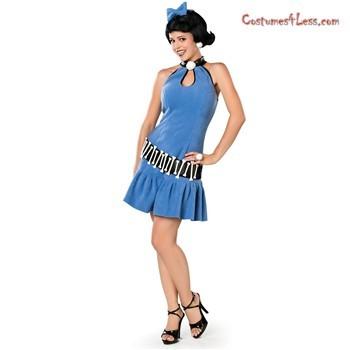 Betty Rubble Character Mascot Halloween Costume