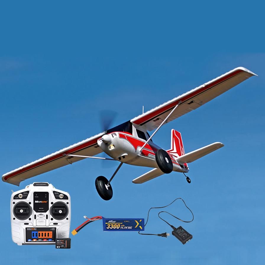 $349.99. Arrows Hobby 1300mm Bigfoot Trainer Aircraft RC Airplane Model Assembly Fixed-wing Aircraft (with Hand Throttle Remote Control/Receiver/Battery/Charger) - RTF Version