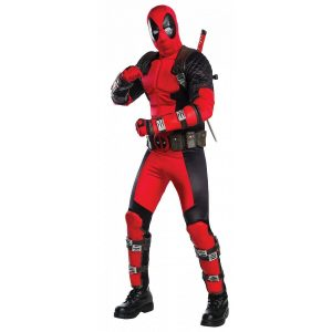 Deadpool Halloween Cosplay Costume