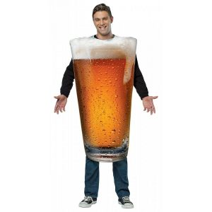 Glass of Beer Halloween Costume