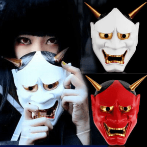 Japanese Evil Demon Masks are Trending!