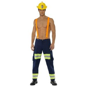 Handsome Fire Fighter Halloween Costume