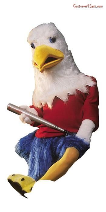 High Quality Eagle Mascot Costume