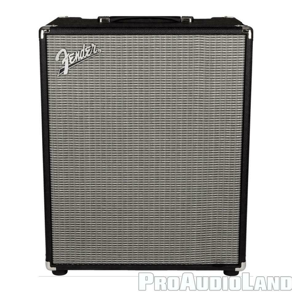 "Fender Rumble 200 Combo Bass Amplifier V3 200 watts 15"" Eminence Black NEW."
