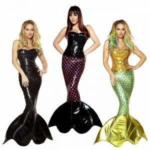 High Quality Mermaid Halloween Costumes
