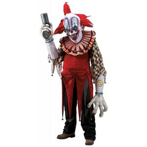Scary Clown Halloween Cosplay Costume