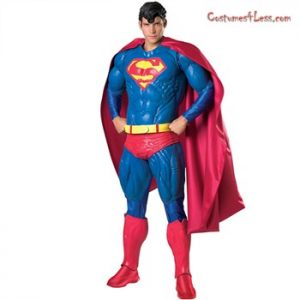 Superman Halloween Cosplay Costume