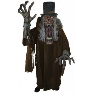 Scary Undertaker Ghoul Halloween Costume