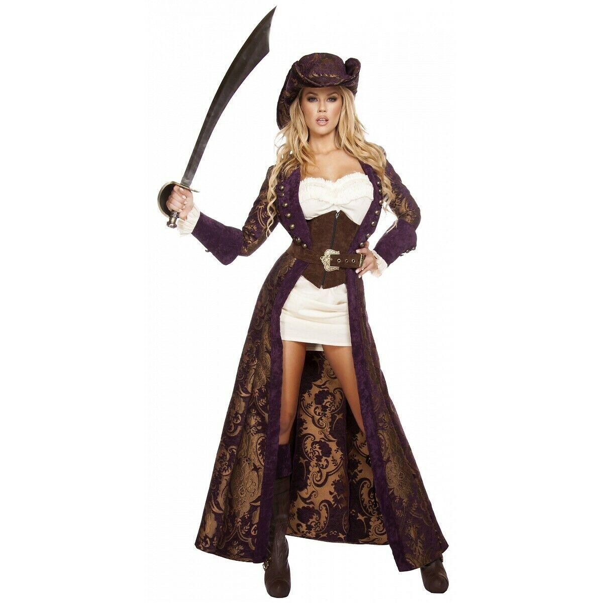 Woman Pirate Halloween Costume