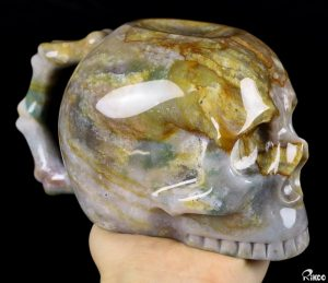 Will A Mysterious Carved Agate Skull Mug Bring You Better Health?