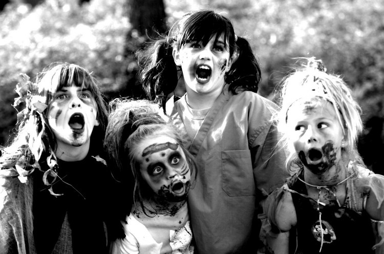 Watch this helpful video with tips on How to Survive a Zombie Attack! Please find a safe spot with good wifi.